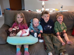 FIVE KIDS!